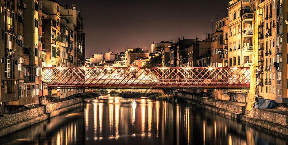 El pont de l'Eiffel de Girona