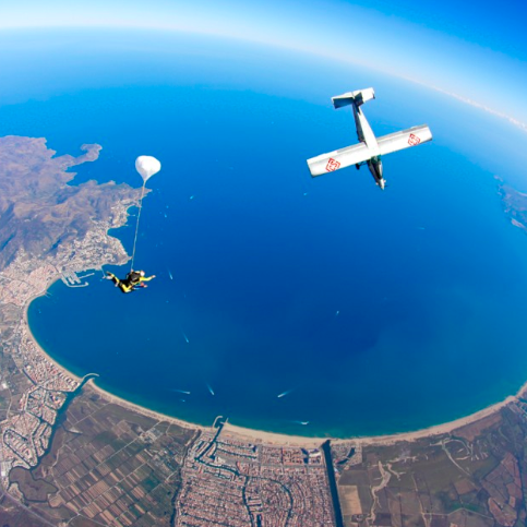 Skydiving in Ampuriabrava