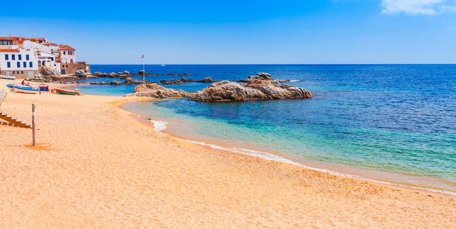Playa de Calella de Palafrugell